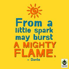 Your little spark can make a MIGHTY difference! Especially if it involves, say, #FairTrade shopping.