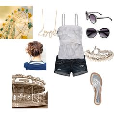 a day at the fair, created by kng09 on Polyvore