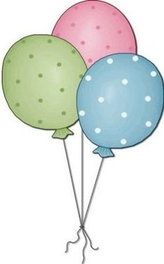 cute balloons svg file cards