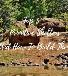 Top 5 Primitive Shelters And How To Build Them When SHTF