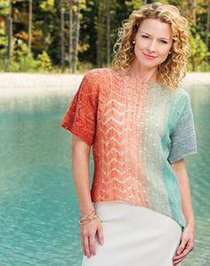 Knitting Patterns Featured in Creative Knitting