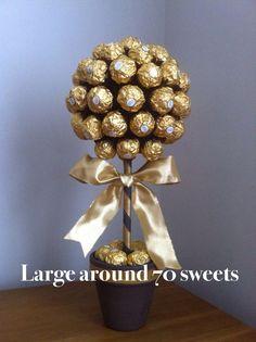 lindt lindor Ferrero Rocher Sweet Tree in Home, Furniture & DIY, Food & Drink, Sweets & Chocolate   eBay