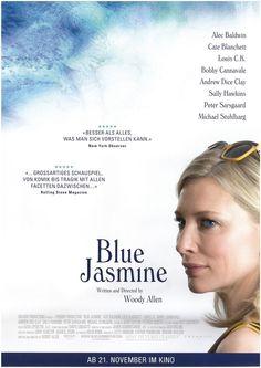 BLUE JASMIN - WOODY ALLEN - ALEC BALDWIN - CATE BLANCHETT - 2013 - FILMPOSTER A4