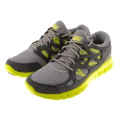 Nike Free Run 2 Trainers Medium Grey