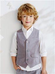 Boy's Smart #Waistcoat.  Shop at www.kidstart.co.uk and get Kidstart savings back for your kids!