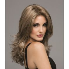 Bobbi is a layered sexy long synthetic wig.  Bobbi features a lace front for a natural looking hairline and a monofilament top for multidirectional parting and the appearance of a natural hair growth where the hair is parted.