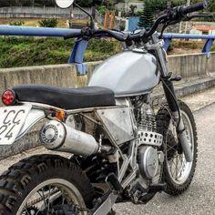 #honda #nx650 #dominator #supertrapp #scrambler #mutantmotorcycles