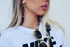 Mais um dos nossos maxi brincos incríveis ❤#news #novidades #tendencia #trends #style #moda #estilo #fashion #acessorios #acessories #lookdodia #lookoftheday #ootd #bijoux #bijous #bijouterias #brincos #earrings