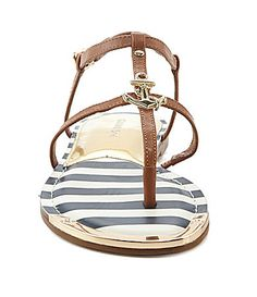 Gianni Bini Sailor Anchor Flat Sandals #Dillards