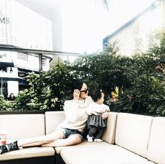 Chriselle Lim wears a cozy sweater with cutoff denim shorts.
