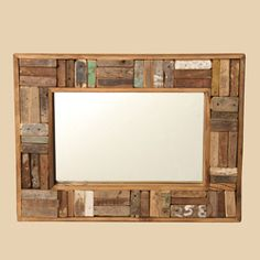 @Overstock - Update the look of your home or office with this beautiful wooden handle mirror. Handcrafted by artisans in India, this decorative mirror is made of reclaimed teak wood.http://www.overstock.com/Worldstock-Fair-Trade/Reclaimed-Wood-Handle-Mirror-India/4676262/product.html?CID=214117 $70.99