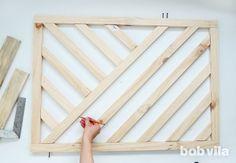 Make a Modern DIY Baby Gate (a photo tutorial) Diy Dog Gate, Diy Baby Gate, Pet Gate, Wood Baby Gate, Fabric Baby Gates, Baby Gate For Stairs, Stair Gate, Cheap Home Decor, Diy Home Decor