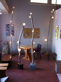 lamps made of branches   ANZFER FARMS: new branch floor lamps available at Cisco home SF