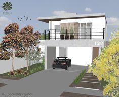 projeto de arquitetura e paisagismo com árvores nativas Landscaping, Log Projects