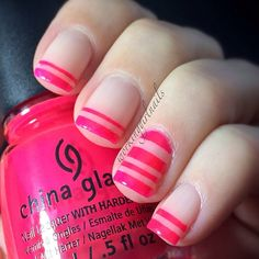 Pink bliss nails