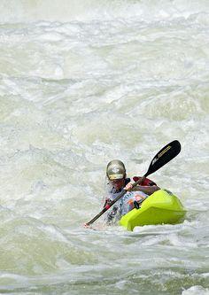 ˚White Water Kayaking