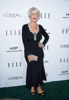 How does she do it? Dame Helen Mirren, 71, turned back the years on Monday night when she attended the 23rd Annual ELLE Women In Hollywood Awards at the Beverly Hills hotel in LA