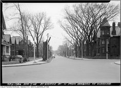 What St. George Street used to look like in Toronto Canada, University Of Toronto, Historical Architecture, Landscape Photos, Victorian Homes, Historical Photos, Old Photos, Ontario, Past