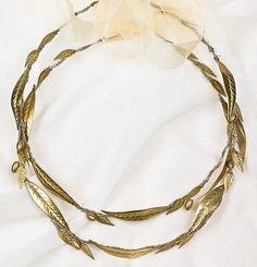 """Stefana"" / Greek Orthodox Handmade Wedding Crowns"