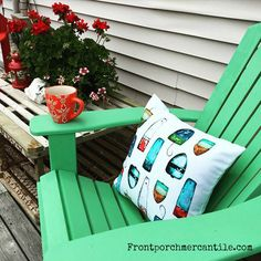 Adirondack Chair Front Porch Mercantile