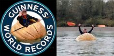 So the Guinness World Record for paddling a pumpkin is 15.09 miles. Yes a pumpkin and the record holder is from Washington! #wepaddleBC