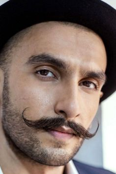 Handlebar moustache is currently the trendiest style that has revived moustache styles yet again. Learn how to get this look and style! Handlebar Mustache, Beard No Mustache, Mustache Wallpaper, Patchy Beard, Beard Shapes, Mustache Styles, Hair Vector, Beard Grooming, Actor Photo
