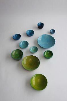 Balloon Bowls by Maarten de Ceulaer