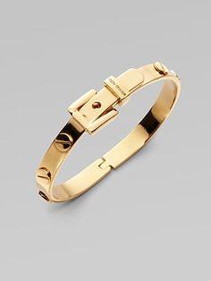 kors buckle bracelet $85....lil cheaper than Cartier love bracelet ;oP