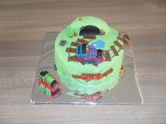 Thomas de trein taart/ Thomas the tank engine cake