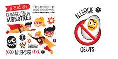Hypoallergènes, faciles à appliquer et durables, les tatouages temporaires Chasseurs de monstres permettent de sensibiliser l'entourage de l'enfant allergique lors des sorties, des fêtes d'amis, des réunions de famille, etc. Les Allergies, Entourage, Glutenfree, Vegan, Monster Hunter, Temp Tattoo, Hunters, Monsters, Tattoos