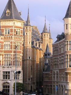 Antwerp, Belgium - looking like a fairytale. Thanks again to our friends in Holland, a GREAT day trip to Antwerp, Belgium