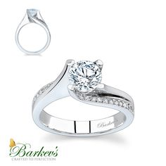 Diamond Engagement Ring 7171LW