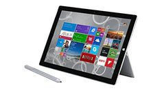 "Microsoft Surface Pro 3 The tablet that can replace your laptop. Surface Pro 3 is in a category of its own. With a stunning 12"" display in a sleek magnesium frame, Surface Pro 3 has all the power and performance of a laptop in an incredibly lightweight, versatile form."