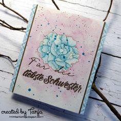 Karten-Kunst » Für die liebste Schwester