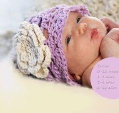 Accesorios Para Niñas Y Bebes Gorritos Tejidos 8c55b026542