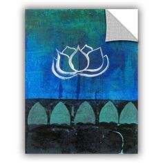 ArtWall Elena Ray ' Lotus Blossom ' Art Appeals Removable Wall Art