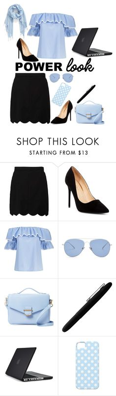 """Power Look"" by penelope-pig2 ❤ liked on Polyvore featuring Liliana, Kaleos, Cynthia Rowley, Fisher Space Pen, Speck and Nordstrom"