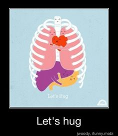 MS hug: not smiling on outside-- This is a terrifying symptom. It makes you feel like you cannot breathe and feels like your being squeezed to death.