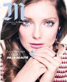 Eniko Mihalik for Le Monde M Magazine - Le Monde Magazine February 2012 Cover