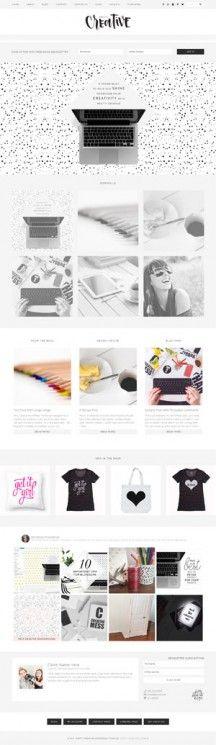 Pretty Creative WordPress theme