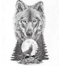 Tatuajes de lobos, imágenes, diseños y significados