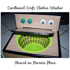 Use as a laundry hamper in child's room for a fun way to get them to put their dirty clothes in the basket.