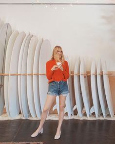"""3,667 Likes, 23 Comments - Everlane (@everlane) on Instagram: """"Photo and outfit sponsored by California. 🤙 @taylranne @daydreamsurfshop"""""""