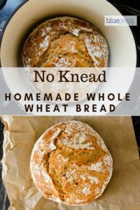 No knead bread will make you feel like a professional baker and will only take 5 minutes of your attention. Put the dough together and let it rest for 12 to 18 hours. This recipe is a whole wheat version. Check out the recipe to find out how easy it is. Knead Bread Recipe, No Knead Bread, Bread Oven, Corn Bread, Sourdough Bread, Chef Recipes, Cooking Recipes, Artisan Bread Recipes, Dough Ingredients