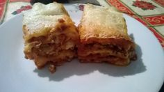lasagna made by mom