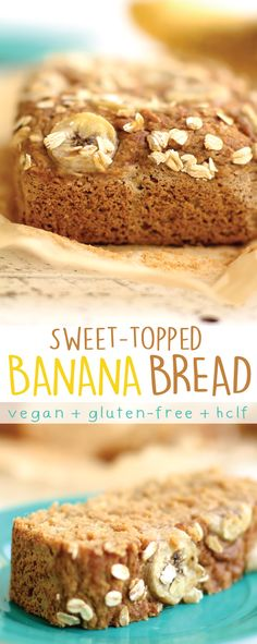 Sweet-Topped Banana Bread. Just replace the coconut sugar with dates to cut out the refined sugar :) Who doesn't love banana bread?