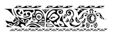 Polynesian ankle band