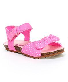Pink Pear Sandal by OshKosh B'gosh #zulily #zulilyfinds