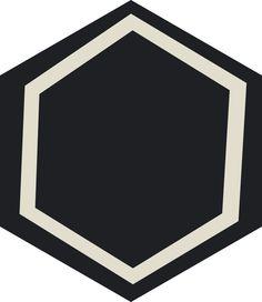 H20M060 #Carreauxciment #Carrelage #Hexagones
