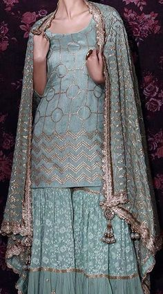 email sajsacouture@gmail.com to purchase your exclusive piece! 🎀 Pakistani Designer Suits, Indian Designer Wear, Pakistani Dresses, Indian Dresses, Indian Outfits, Latest Pakistani Fashion, Indian Bridal Fashion, Indian Bridal Wear, Indian Wear